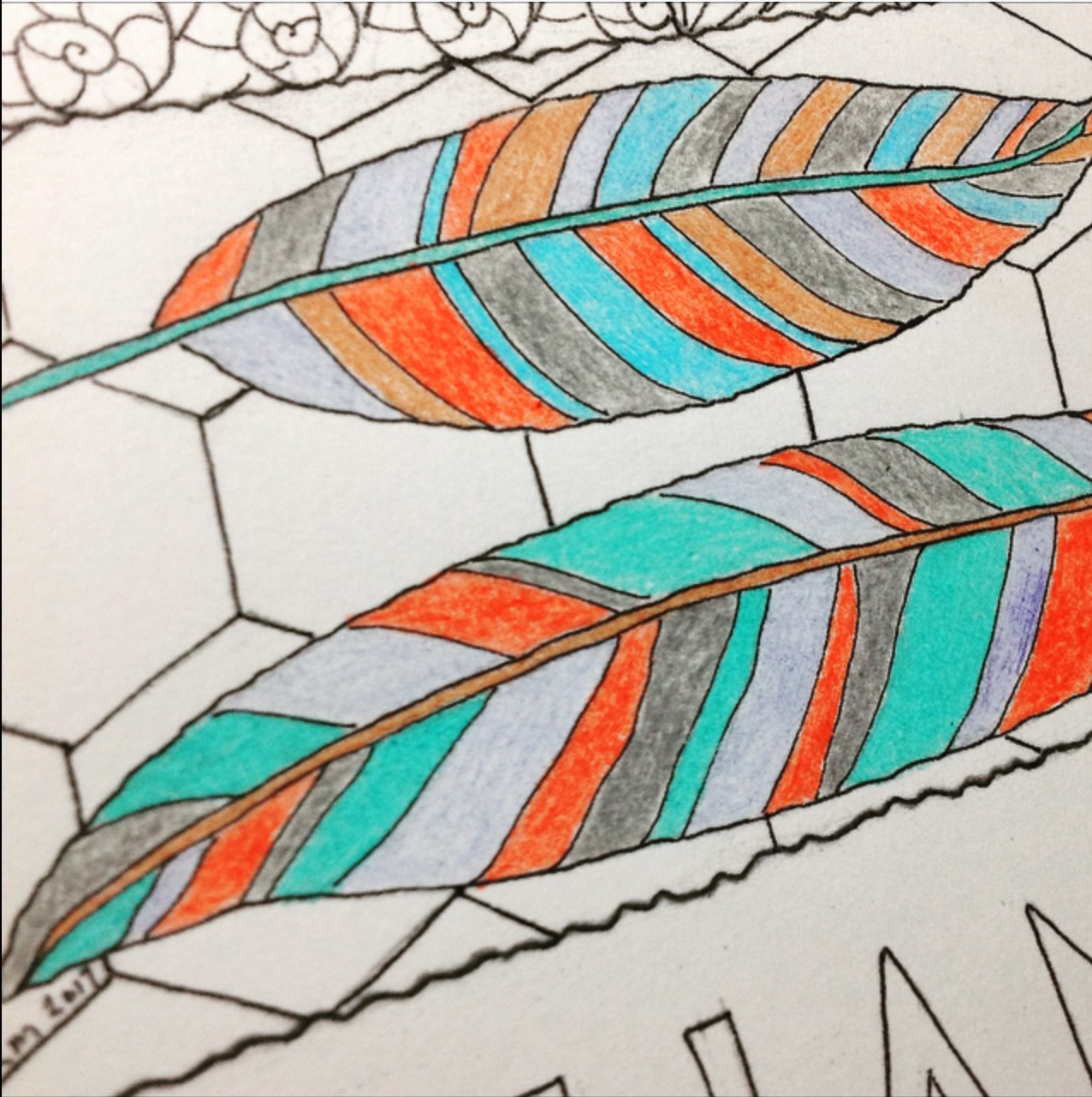 Happy Tuesday! Grab something fun to color with and go to it! Coloring is the first and easiest way to get your life out of the mundane! GET YOUR COLOR ON and FEATHER YOUR NEST WITH THANKS