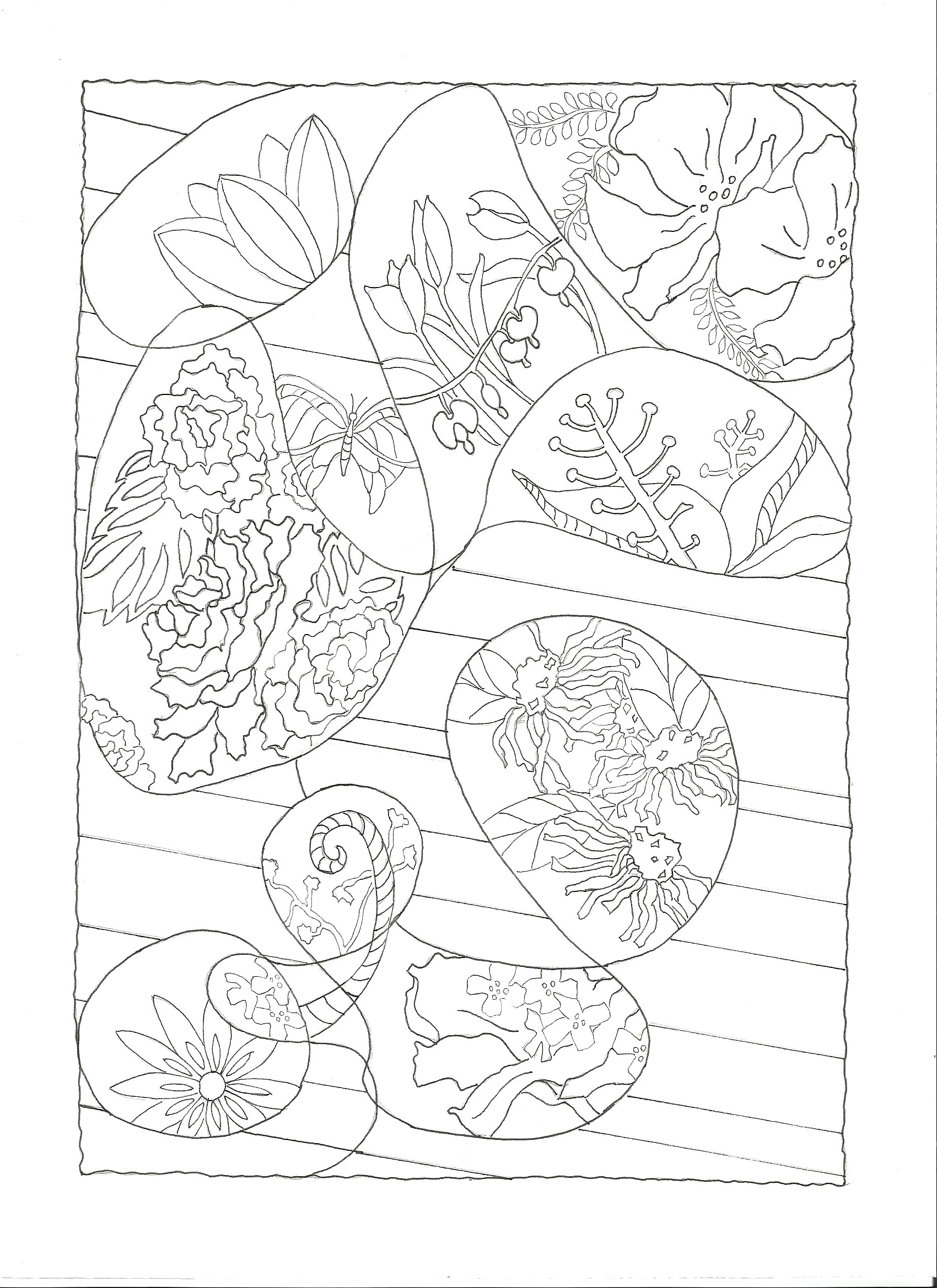 Exclusive Coloring Pages available on Thursday by signing up to receive them in your inbox! Birds Eye View www.sandykayemoss.com