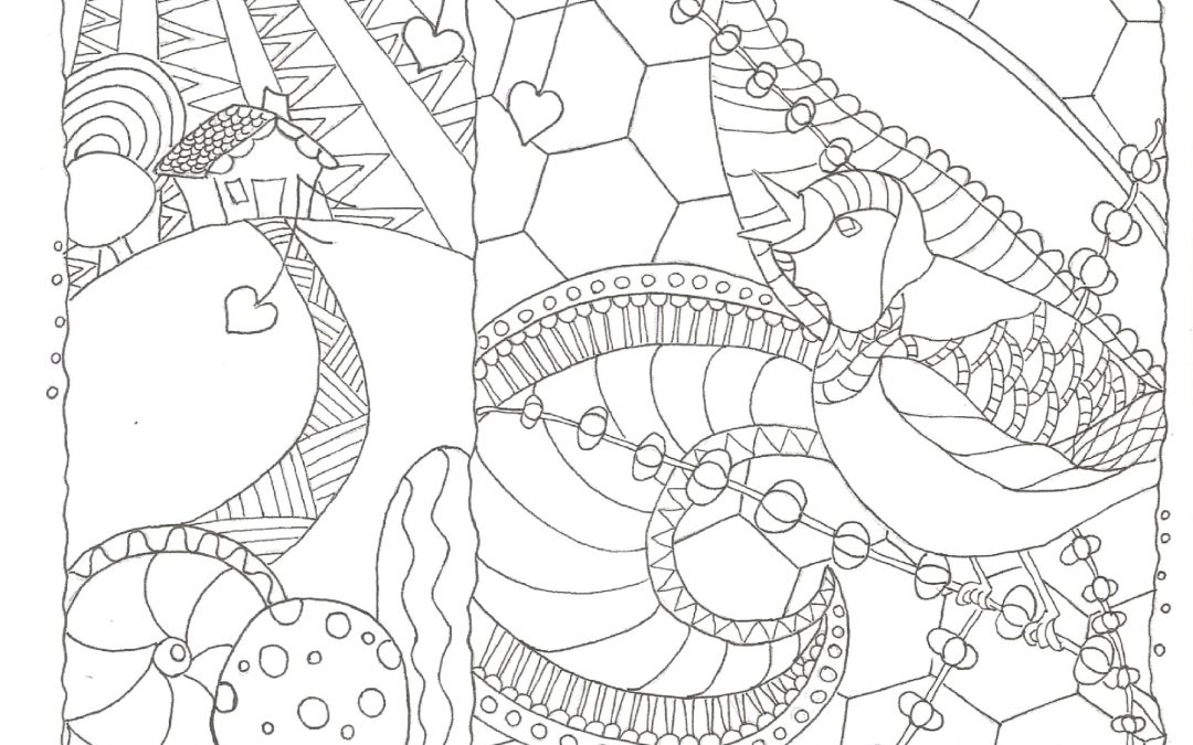 The Very First Coloring Page!