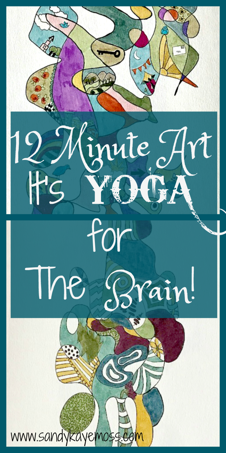Art for brain health! Just 12 minutes a day.