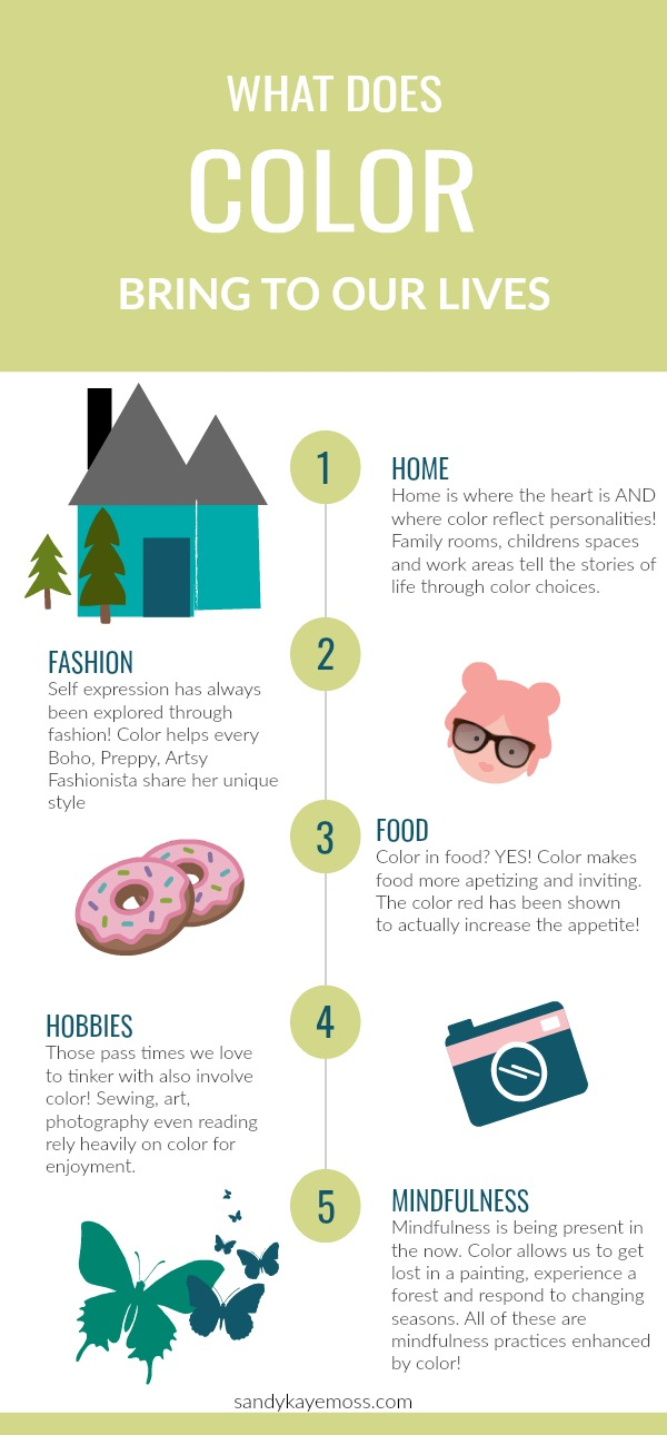 Infograph- the Purpose of Color